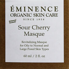 Eminence Sour Cherry Masque 60ml(2oz) Dry Mature Skin Fresh New