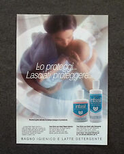 G556 - Advertising Pubblicità - 1989 - INFASIL BAGNO IGIENICO E LATTE DETERGENTE
