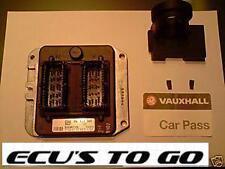VAUXHALL OPEL  ECU VECTRA 1.8 16V ECU KIT PART No  9117394  PROGRAMMED TO CAR