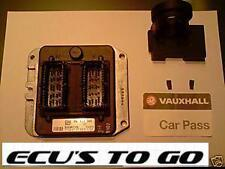 VAUXHALL OPEL  ECU ASTRA 1.8 16V ECU KIT PART No  9117394  PROGRAMMED TO CAR