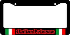 ITALIAN PRINCESS ITALY FLAG   License Plate Frame