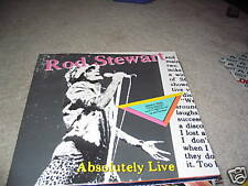 Rod Stewart; Absolutely Live on 2 LP's WB  23743