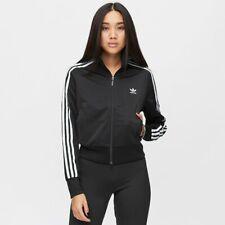 Giacca Adidas Track Jacket Firebird zip completa nero black donna FM3269
