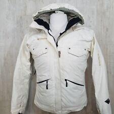 Columbia Jacket Womens Small S Titanium Omni Heat Winter Hooded waterproof