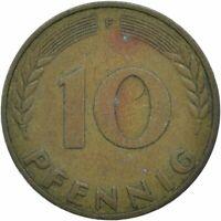 COIN / GERMANY / 10 PFENNIG 1971  #WT17678