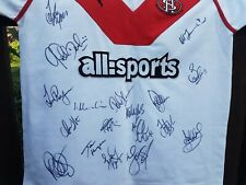More details for st helens signed rugby league shirt