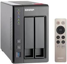 Qnap TS-251+-8G /8GB inkl. 8TB (2x4TB - 24/7 RAID Festplatten mit 128MB Cache)