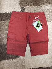 ROCXYGEN ~ 38 ~ Tolle Shorts ~ rot ~ recycled Polyester ~ NEU