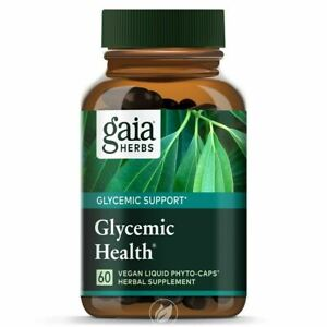 Gaia Herbs Glycemic Health New! Phyto-Caps 60 ct