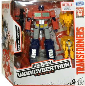 2020 Transformers War For Cybertron Netflix Optimus Prime Collectible Figure