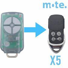 5 x ATA PTX-5v2 PTX5 Compatible Garage/Gate Door Remote GDO 6v3/7v2/7v3/8v3/9v2