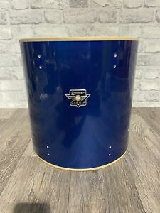 """Premier Carbia Floor Tom Drum Shell 14""""x14"""" Bare Wood Project / Upcycle"""