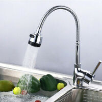 360 Degree Rotating Flexible Brass Kitchen Sink Laundry Mixer Tap Faucet