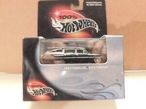 Hot Wheels 100 % - 1/64 - 1963 Cadillac Fleetwood