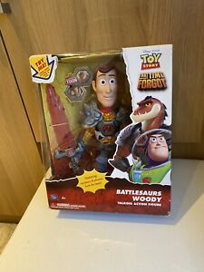 Toy Story That Time Forgot Battlesaurs Woody Figure