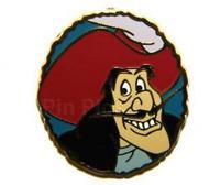 Disney Pin 75744 PT52 Captain Hook Villain Peter Pan Limited Release Mystery