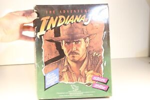 Vintage 1984 TSR The Adventures of Indiana Jones RPG - Role Playing Game ...L23