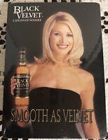 Vintage Sealed Deck of Advertising Playing Cards ~ BLACK VELVET Canadian Whisky