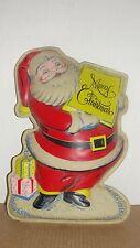 Vintage Santa Wall Plaque / Table Decor
