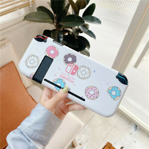 Cute cartoon Donuts Dockable Thin Hard Case Cover for Nintendo Switch lite shell
