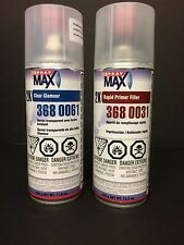 USC SPRAYMAX COMBO 2K GLAMOUR CLEAR 3680061 AND 2K RAPID PRIMER FILLER 3680031