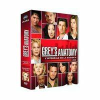 """DVD """"Grey's Anatomy, Temporada 4"""" Estuche 5 DVD Nuevo en Blíster"""