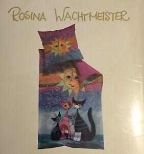 ROSINA WACHTMEISTER  Bettwäsche 100 % Baumwolle ca. 135 x 200 / 80 x 80 cm
