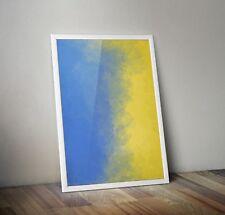 Abstract Prints Printable Wall Decor Downloadable Nel blu dipinto di blu