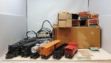 Lionel Vintage Postwar 1437WS Steam Locomotive Freight Set With Original Boxes