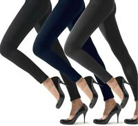 3 pz leggins invernale felpato termico casual donna fuseaux caldi 3 colori
