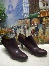 Longchamp Python Print Leather Ankle booties - Size 40