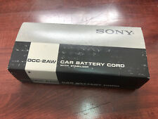 NOS Vintage Sony Car Battery Cord With Stabilizer Dcc-2aw