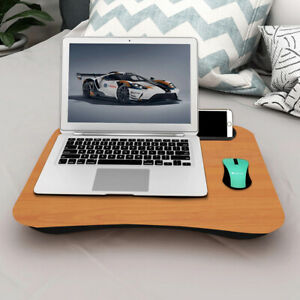 Portable Knee Laptop Cushion Lap Tray Computer Desk Reading Table Tablet Holder