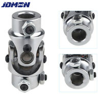 "3/4""-36 Spline X 3/4"" DD Single Steering Shaft Universal U-Joint Sliver"