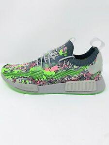 Adidas Originals NMD_R1 Primeknit 'Hyper Pop' Mens Running Shoe Size 11.5,12
