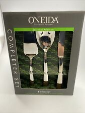 ONEIDA Completer Set 11 Piece Set Stainless Steel (NEW) Serving And Steak Knives