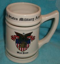 US Army Military Academy West Point Beer Mug Stein Unused Collectiable