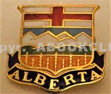GIRL GUIDES ALBERTA CANADA HAT BADGE / Pin Mint
