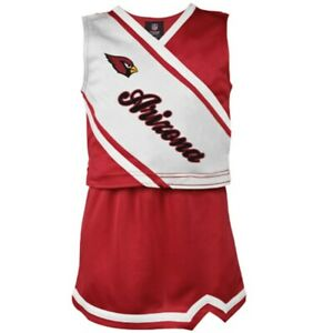 Outerstuff NFL Youth Girls Arizona Cardinals Cheerleader Play Two Piece Set