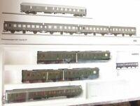Märklin 43194 Set Personenwagen-Set der DB Epoche 3 mit Innenbeleuchtung MHI,OVP