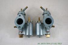 CJ750 AFTERMARKET carburetors PZ28 SV Flat Head M1 M1M