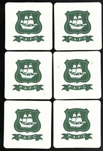 PLYMOUTH ARGYLE F.C. Pack of Official Beer Mats / Coaster FREE POST UK