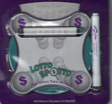 LOTTO SPOTTO Lottery Ticket Reader Magnifier Magnetic Dry Erase Pen & Eraser