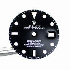 Gen Rolex Dial Black Tritium Submariner 16610 16800 Cal. 3035 3135