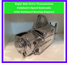 RIGHT SIDE DRIVE TRANSMISSION TRIK SHIFT POLISHED HYDRAULIC BRAND NEW