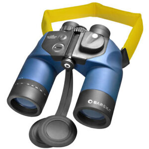 Barska 7x50 Marine Binoculars w/ Rangefinder Reticle, AB10160, w/ Case & Strap