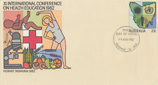(13867) Australia Postal Stationery FDC Health Education 16 August 1982