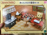 Sylvanian Families Warmth log furniture set EPOCH Calico Critters