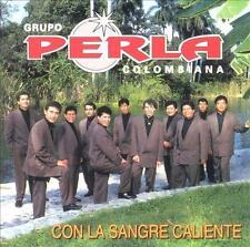 GRUPO PERLA COLOMBIANA - Con La Sangre Caliente (CD 1999) *NEW* USA Latin Music