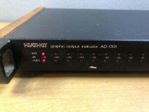 Heathkit Rack Mount Audio Power Meter model AD-1701 AZ1